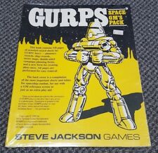 GURPS Space GM's Pack - Steve Jackson Games 6405 - New in Shrink