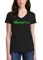 Junior/'s Faux Pocket Weed Black T Shirt Women/'s Rasta High Blunt Marijuana Joint