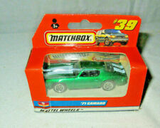 Matchbox #39 Green 71 Camaro sealed