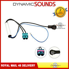 CT27AA86 Double Fakra - ISO Car Stereo Antenna Adaptor for Audi Seat Skoda VW