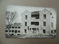 c.1912 Milford Nebraska Soldiers Sailors & Home Real Photo Postcard Rppc Antique