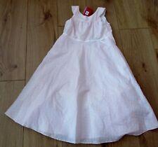 dress  Girls Party SUMMER Pretty Aged 7 - 8 - 9  Years pink next summer cotton