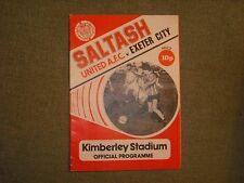 SALTASH UNITED  V  EXETER CITY  (WL)  16-2-80