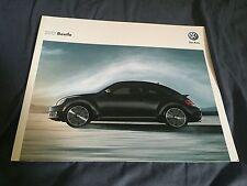 2012 VW Volkswagen Beetle USA Market Brochure Catalog Prospekt