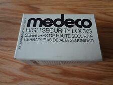Medeco 32-5575 Mortise Cylinder Housing High Security Locks Satin Bronze 6 PIN