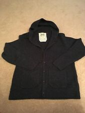 FCUK Men's Hooded Cardigan in Navy Size Large - Hardly Worn