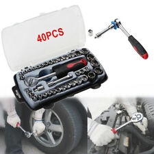 Heavy Duty 40PCS Wrench Sleeve Remover Hand Tools For Car Tyre Tire Repair Tool