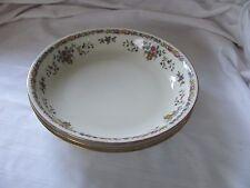 Epiag Czechoslovakia 3 coupe soup salad bowls 9075 urn flowers