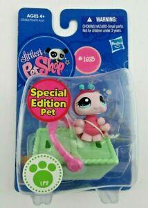 NIP Littlest Pet Shop Special Edition #1813 Ladybug w/ Picnic Basket