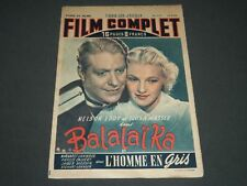 1949 SEPTEMBER 15 FILM COMPLET MAGAZINE - NELSON EDDY - ILONA MASSEY - ST 5123