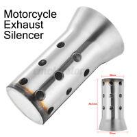 51mm Court Universel Silencieux Pot d'échappement Baffle Killer Amovible Moto