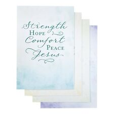 DaySpring Sympathy Boxed Greeting Cards w Embossed Envelopes - Simply Stated,...