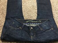 AE AMERICAN EAGLE OUTFITTERS ARTIST STRETCH WOMENS DESIGNER JEANS SIZE 4