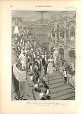 Paris Hotel de Ville Nicholas II Russia Félix Faure France-Russia Aliance 1896