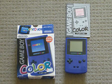 JAPANESE GAMEBOY COLOR BOXED W/ 19 GAMES BOXED