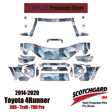 3M PRO Series PreCut Paint Protection Kit for Toyota 4 Runner 2014-2020 *PPF*