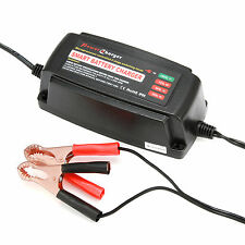 AUTO 12V 5A SMART BATTERY CHARGER 4 STAGE LED AGM With Microprocessor Controlled