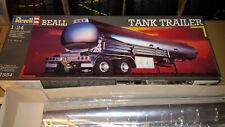 Revell  1:24  Beall Tank Trailer 07554 Anhänger Auflieger