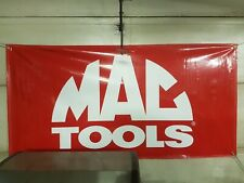 Mac Tools Vinyl Banner Hanging Sign 3x6ft Sockets Wrenches Screw Drivers Impact