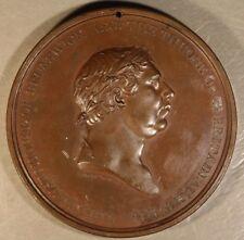 1814 Britain Ireland Geo III Centennial House Brunswick Medal *FREE US SHIPPING