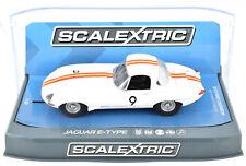 Scalextric Jaguar E-Type - 1965 Bathurst W/ Lights 1/32 Scale Slot Car C3890