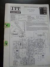 ORIGINALE servizio manualitt Schaub Lorenz RX 75 proffesional