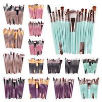 MAANGE 15pcs Eye Shadow Cosmetic Makeup Brushes Set Lip Eyebrow Brush Kits Tools