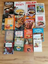 Buchpaket 19 Backbücher/Kochbücher