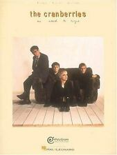 The Cranberries : No Need to Argue Songbook Sheet Music Song Book