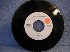 J Geils Band, Must Of Got Lost, Atlantic 45-3214, 1974, Advanced Promo Issue