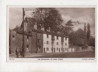 The Beginning Of Main Street Bingley Yorkshire Vintage RP Postcard 502b