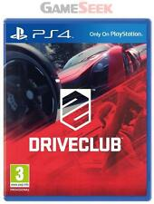 DRIVE CLUB (DRIVECLUB) - PLAYSTATION PS4 BRAND NEW FREE DELIVERY