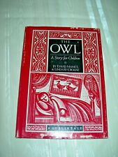 The Owl by David Mamet & Lindsay Crouse Goblin Tale HC/DJ A Story for Children