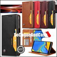 Etui coque housse CARD Premium Qualité Cuir PU Leather Case Cover Xiaomi Poco M3