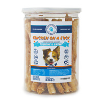 Chicken On A Stick - Chicken Jerky Wrapped Rawhide Dog Treats