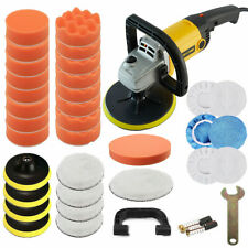 37PCS Car Polisher Sander Buffer Variable 6 Speed Polishing Machine Buffing Pads
