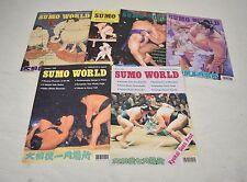 Sumo World Magazines 1996 6 issues