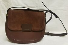 LOUISE ET CIE | Ivie Leather Shoulder Bag in Brown (LC727)  Retail $298