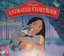 disney POCAHONTAS win/mac ANIMATED STORYBOOK rated e PC-CD ROM   #46
