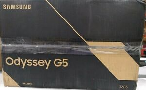 """NEW Samsung 32"""" WQHD Gaming Monitor with 1000R Curved Screen - Black"""