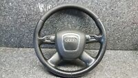AUDI A6 4F C6 05-11 MULTIFUNCTION 4 SPOKE STEERING WHEEL 4F0419091AH A/BAG #N7F