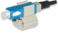 Fast Connect SC MM 62.5 Fiber Optic Connector Field Installable