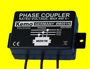 NEU! 3-Phasenkoppler POWERLINE Strom-Netzwerk Phase-LINE-Coupler max. 650 mBps