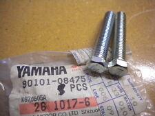 NOS Yamaha Rear Wheel Bolt 83 YZ490 84 & 98-01 YZ80 02-08 YZ85 90101-08475 QTY2