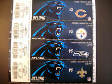 Carolina Panthers 2013 Nfl ticket stubs - One ticket