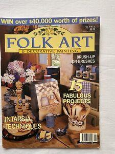 Australian Folk Art & Decorative Painting Magazine Volume 4 No 1