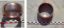 Bracelet en cuivre décoré de cupules des années 1970-1980...