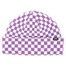 Vans wm core basic beanie hat - dewberry check - cappellino a cuffia multicolor