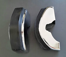 Porsche 911 S 65-73 Front Bumper Guards With Rubber Pads-New