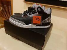 *Limited Edition* Air Jordan Retro 3 'Black Cement' 2018- size uk 8